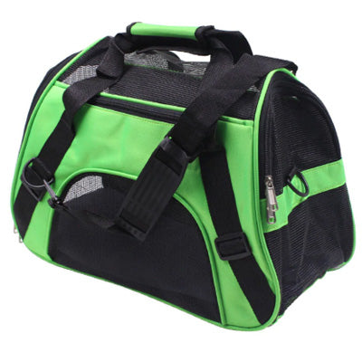 Holdall Style Chihuahua Pet or Small Dog Carrier Medium Green