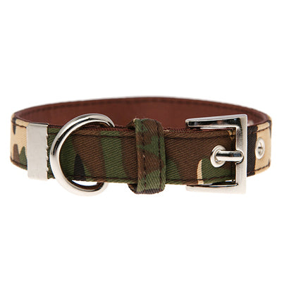 Urban Camouflage Collar by Urban Pup Green