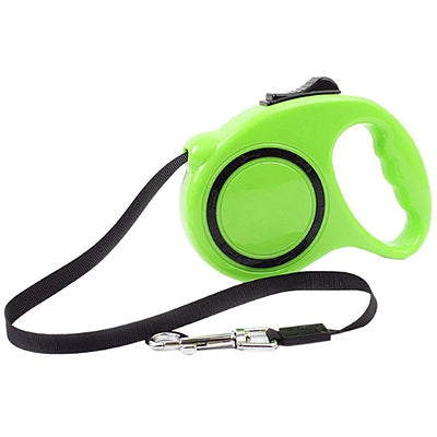 Retractable Quality Extending Chihuahua or Small Dog Lead green