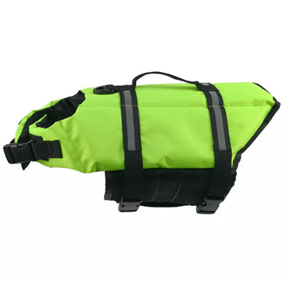 Pet Life Jacket Buoyancy Aid Vest for Chihuahuas or Small Dogs Neon Green XS Chihuahua Clothes and Accessories at My Chi and Me