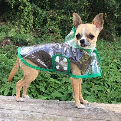 Chihuahua or Small Dog Fleece Jumper with D Rings For Leash Brown Chihuahua Clothes and Accessories at My Chi and Me