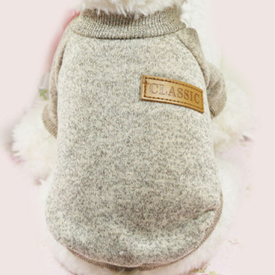Chihuahua Puppy and Small Dog Knitted Cosy Fleece Lined Jumper 8 COLOURS Small Chihuahua Clothes and Accessories at My Chi and Me