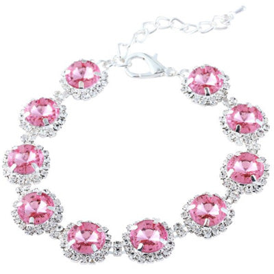 Chihuahua Bling Necklace Small Dog Pink Swarovski Crystal Collar 2 SIZES Chihuahua Clothes and Accessories at My Chi and Me