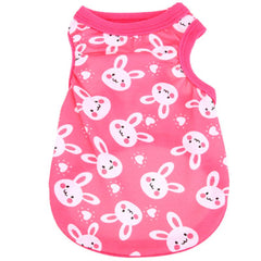 Chihuahua or Chihuahua Puppy Cotton Jersey Bunny Vest Chihuahua Clothes and Accessories at My Chi and Me