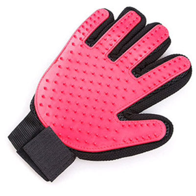 Chihuahua Small Dog Rubber Grooming Glove Right Hand Pink or Blue Chihuahua Clothes and Accessories at My Chi and Me