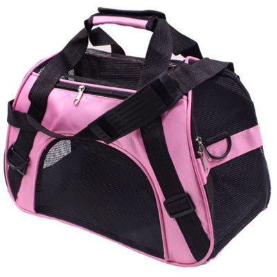 Holdall Style Chihuahua Pet or Small Dog Carrier Medium Pink