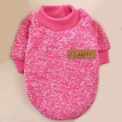 Chihuahua or Small Dog Knitted Cosy Fleece Lined Jumper 4 COLOURS Large Chihuahua Clothes and Accessories at My Chi and Me