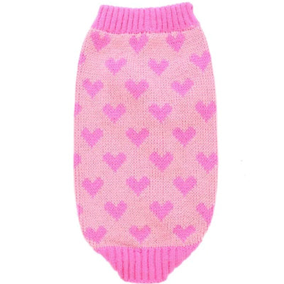 Chihuahua Puppy Chihuahua or Small Dog Orange and Pink Hearts Jumper Chihuahua Clothes and Accessories at My Chi and Me