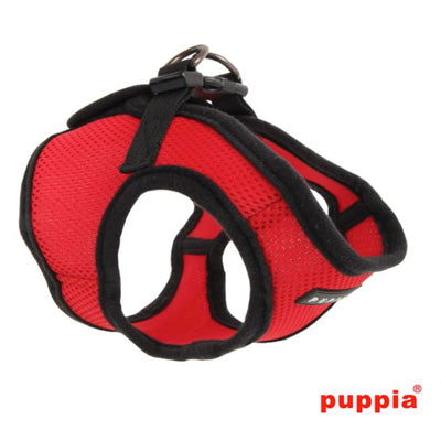 Puppia Soft Mesh Vest Style Chihuahua Small Dog Jacket Harness B Red 3 SIZES Chihuahua Clothes and Accessories at My Chi and Me