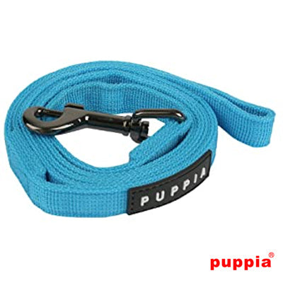 Puppia Turquoise Chihuahua Small Dog Lead Medium 1.5cm Width Chihuahua Clothes and Accessories at My Chi and Me