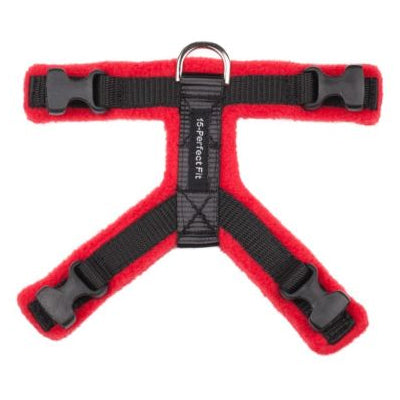 15mm PerfectFit Complete Harness XXS-XXS-XS for Medium to Large Chihuahuas and Toy Breeds 32-40cm Chest
