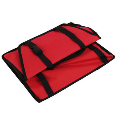 Premium Portable Folding Travel Car Seat Strong Red Nylon PVC Coated Cloth Chihuahua Clothes and Accessories at My Chi and Me