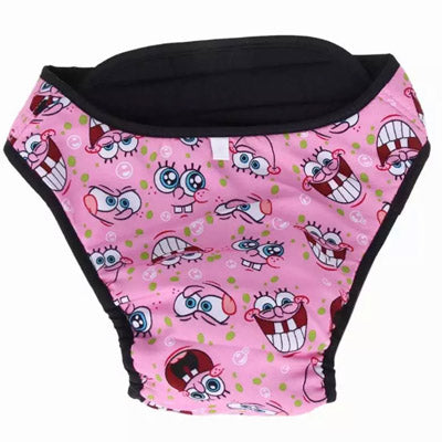 Heavy Duty Season Pants Sanitary Menstruation Knickers for Small Dog Breeds Chihuahua Clothes and Accessories at My Chi and Me