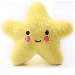 Twinkle Chihuahua or Small Dog Plush Star Toy with Squeaker Yellow Chihuahua Clothes and Accessories at My Chi and Me
