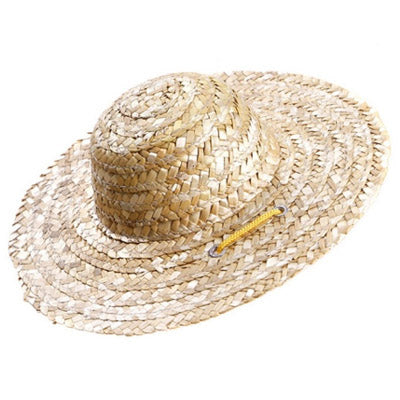 Straw Sun Hat for Chihuahua Small Dog or Puppy EASTER BONNET