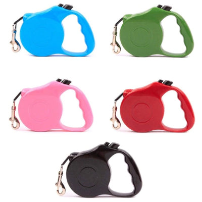 Sturdy Grip Retractable Extending Chihuahua or Small Dog Lead - 5 COLOURS Chihuahua Clothes and Accessories at My Chi and Me