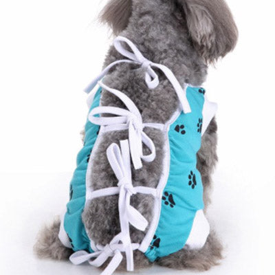 Surgery Suits for Small Dogs Post Wound Surgery Protection Turquoise