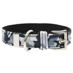 Urban Camouflage Collar by Urban Pup Arctic Colours Chihuahua Clothes and Accessories at My Chi and Me