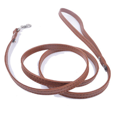 Super Value Small Flat PU Leather 1cm Lead 1.2 Metres Long 12 COLOURS Chihuahua Clothes and Accessories at My Chi and Me