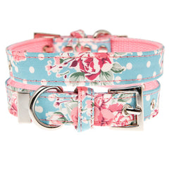 Vintage Rose Floral Collar by Urban Pup Chihuahua Clothes and Accessories at My Chi and Me
