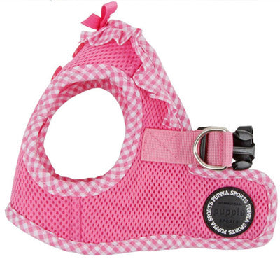 Puppia Vivian Vest Style Jacket Harness B Pink 3 SIZES Chihuahua Clothes and Accessories at My Chi and Me