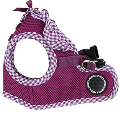 Puppia Vivian Vest Style Jacket Harness B Purple 3 SIZES Chihuahua Clothes and Accessories at My Chi and Me