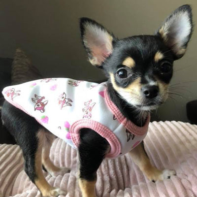 Puppy Vest Baby Deers - 3 Sizes Chihuahua Clothes and Accessories at My Chi and Me