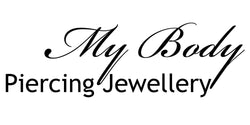 12G Glow Logo Barbell | Tongue | Nipple | My Body PIercing Jewellery Piercing Jewellery | My Body Piercing Jewellery