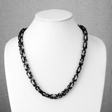 Black Clip Accent Chain