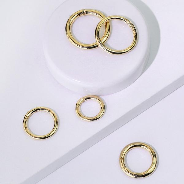 14kt Gold Hinged Ring