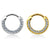 14kt Gold CZ Paved Septum Clicker 16G-My Body Piercing Jewellery