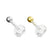 14kt Gold Top Bioflex Labret 16G-My Body Piercing Jewellery