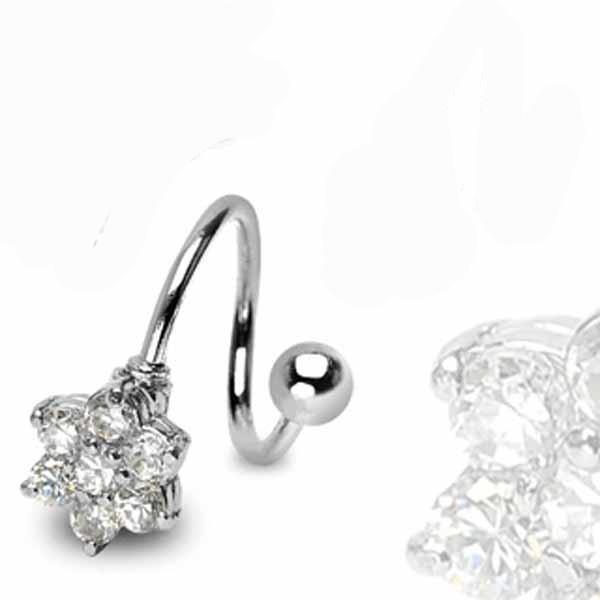 Flower Twist 14G-My Body Piercing Jewellery