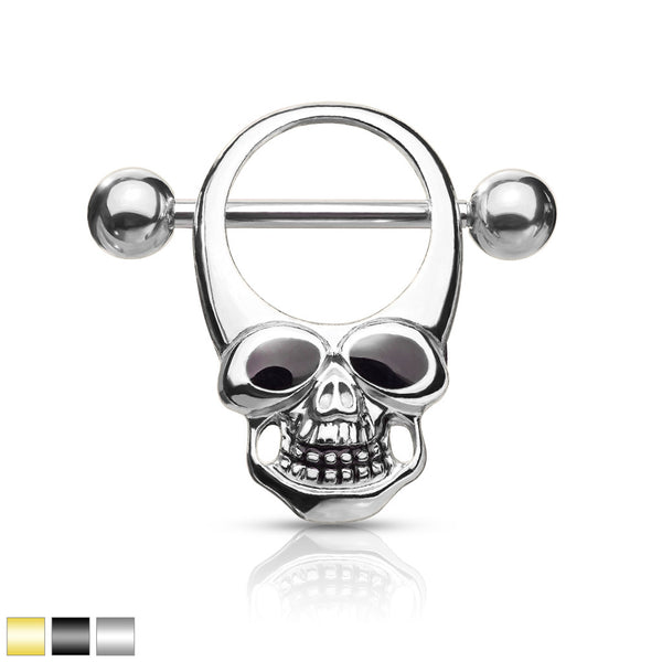 Skull Nipple Shield-My Body Piercing Jewellery