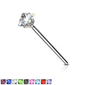 .925 Sterling Silver Square Gem Fishtail 20G
