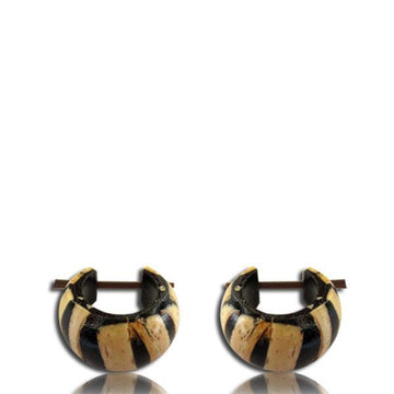 Coco Wood Pin Earring Pair