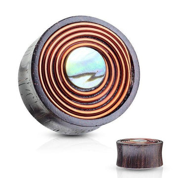 Shell And Copper Plug 00G-1""