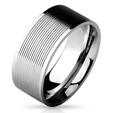 Grooved Lines Ring