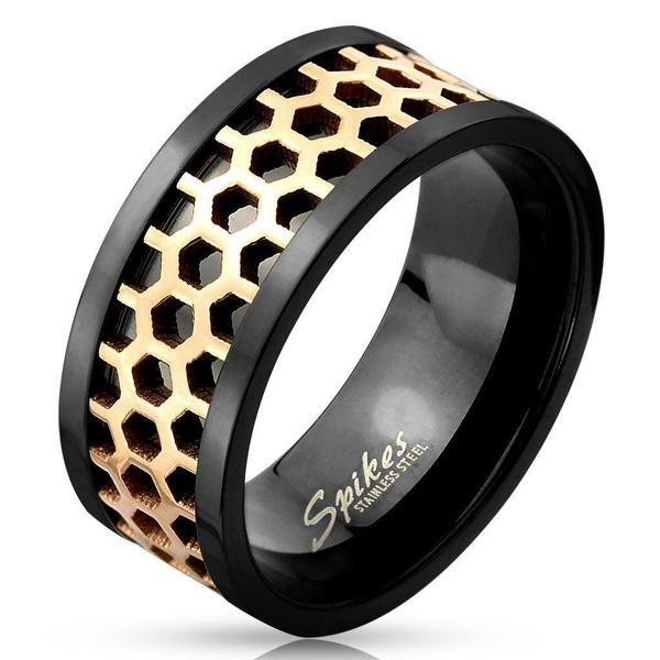 Honeycomb Ring-My Body Piercing Jewellery