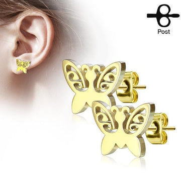 Butterfly Earrings Pair