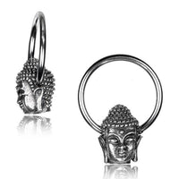 Buddha Captive Ring 16G 14G-My Body Piercing Jewellery