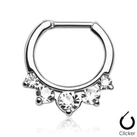 5 Gem IP Septum Clicker 16G