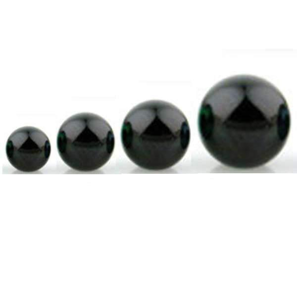 Hematite Coated Snap In Ball End-My Body Piercing Jewellery