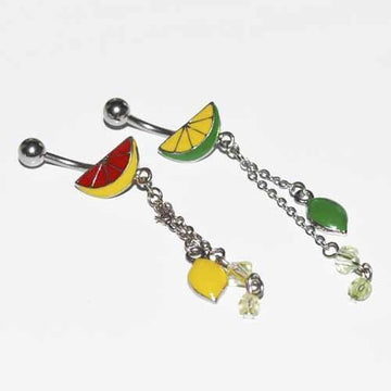Lemon Lime Belly Bar 14G