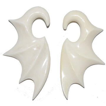 Bone Wing Taper Pair 6G 4G 2G