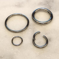 Hinged Continuous Ring 20G-10G-My Body Piercing Jewellery
