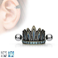 Headdress Cartilage Cuff 16G-My Body Piercing Jewellery
