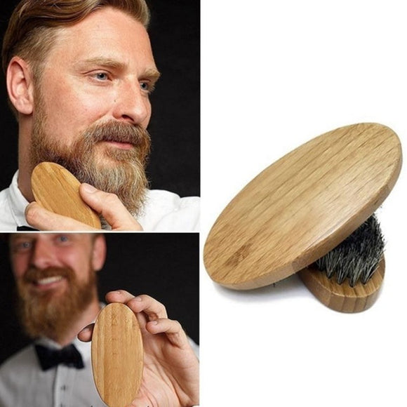 Boar Bristle Beard Brush - High End Materials, Combs / Brushes / Trimmers, THEFINEBEARD, THEFINEBEARD