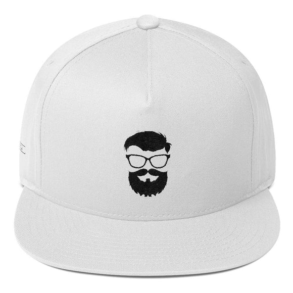 Flat Bill Cap - Glasses Beard model, Cap, THEFINEBEARD, THEFINEBEARD