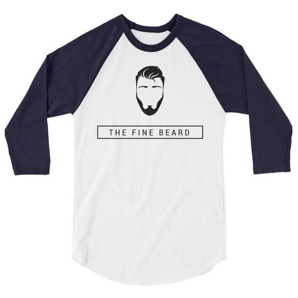 3/4 sleeve raglan shirt - Beard'r, Long Sleeve Shirt, THEFINEBEARD, THEFINEBEARD